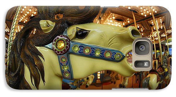 Galaxy Case featuring the photograph Merry Go Round by Sami Martin