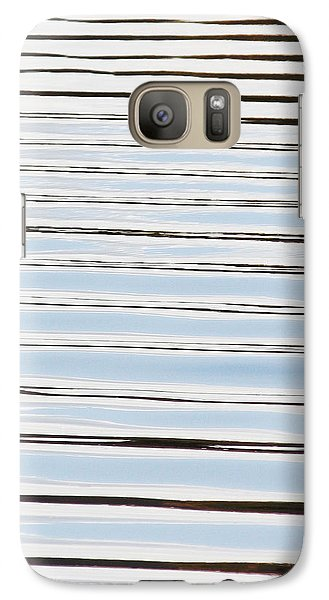 Galaxy Case featuring the photograph Mesmerizing Waves by Anita Oakley