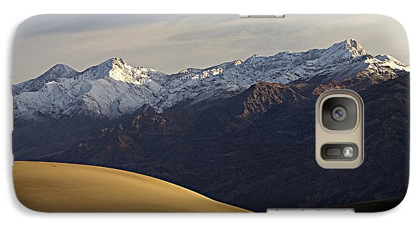 Galaxy Case featuring the photograph Mesquite Dunes And Grapevine Range by Joe Schofield