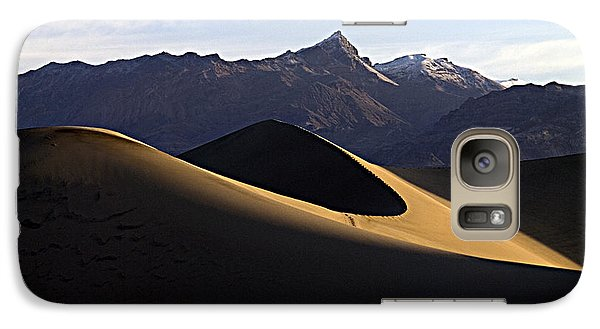 Galaxy Case featuring the photograph Mesquite Dunes At Dawn by Joe Schofield