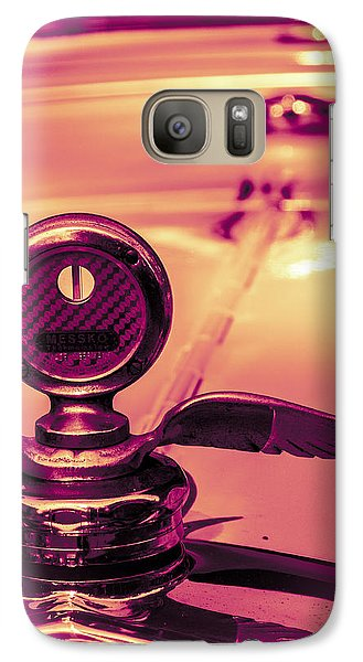 Galaxy Case featuring the digital art Messko Thermometer by Bartz Johnson