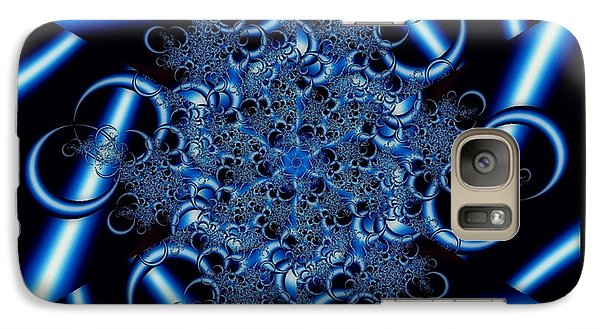 Galaxy Case featuring the photograph Metal Lace by Barbara R MacPhail