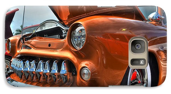 Galaxy Case featuring the photograph Metal Mouth Hot Rod by Timothy Lowry