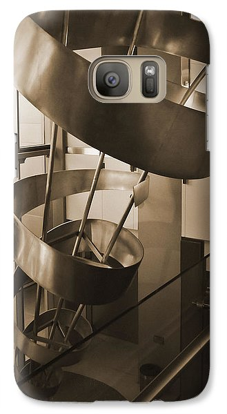 Galaxy Case featuring the sculpture Metal Structure by Debra Crank