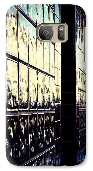 Galaxy Case featuring the photograph Metallic Reflections by Melanie Lankford Photography