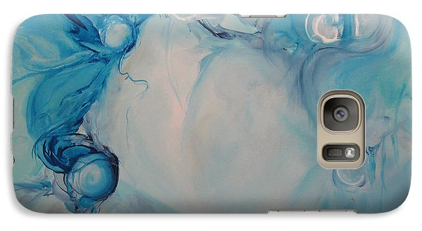 Galaxy Case featuring the painting Metamorphosis I by Elis Cooke