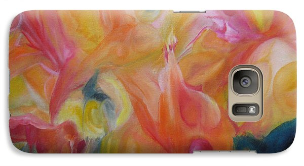 Galaxy Case featuring the painting Metamorphosis Iv by Elis Cooke