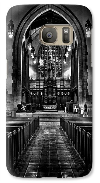 Galaxy Case featuring the photograph Metropolitan United Church 1 Toronto Canada by Brian Carson
