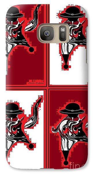 Galaxy Case featuring the digital art Mexican Bird 2 by Ann Calvo