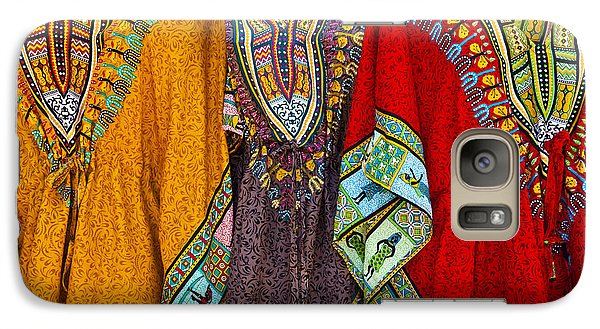Galaxy Case featuring the photograph Mexican Colors by John  Bartosik