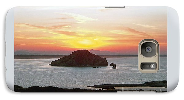 Galaxy Case featuring the photograph Mexican Riviera Sunset by Gena Weiser
