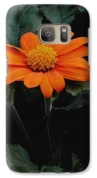 Galaxy Case featuring the photograph Mexican Sunflower by James C Thomas