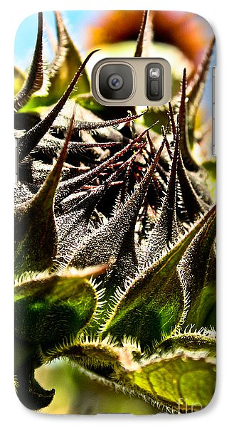 Galaxy Case featuring the photograph Mexican Sunflower by Joel Loftus