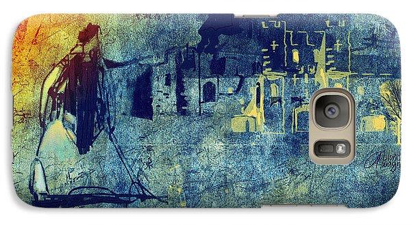 Galaxy Case featuring the digital art Mi Casa by Arline Wagner