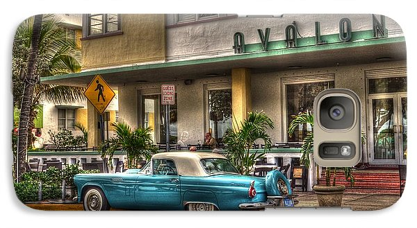 Galaxy Case featuring the photograph Miami Beach Art Deco 1 by Timothy Lowry