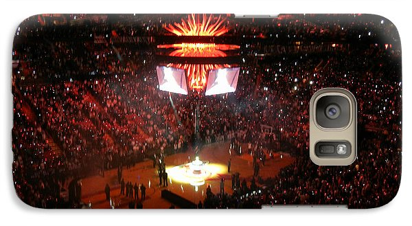 Galaxy Case featuring the photograph Miami Heat  by J Anthony