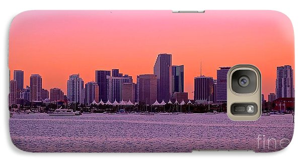 Galaxy Case featuring the photograph Miami Metro by Judy Kay