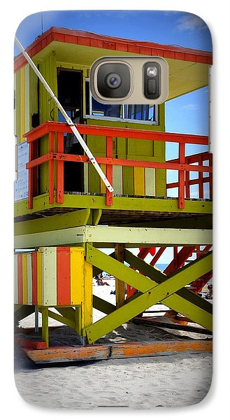 Galaxy Case featuring the photograph Miami Shack by Laurie Perry