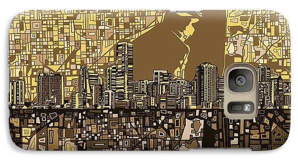 Miami Skyline Abstract 6 Galaxy S7 Case