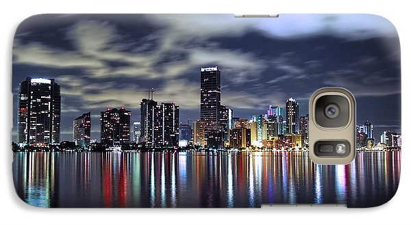 Miami Skyline Galaxy S7 Case
