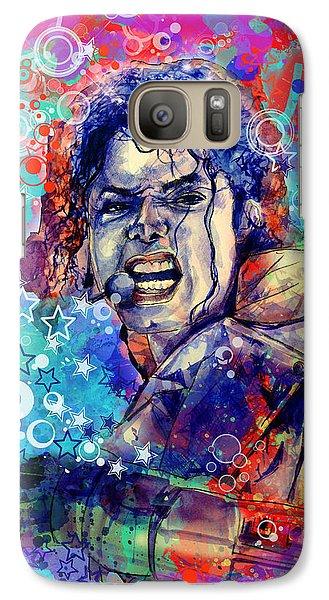 Michael Jackson 11 Galaxy S7 Case