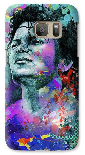 Michael Jackson 12 Galaxy S7 Case