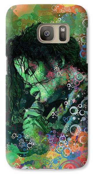 Michael Jackson 15 Galaxy S7 Case by Bekim Art