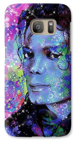 Michael Jackson 17 Galaxy S7 Case