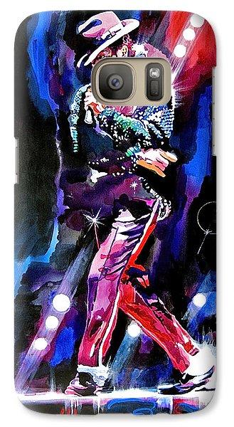 Michael Jackson Moves Galaxy Case by David Lloyd Glover