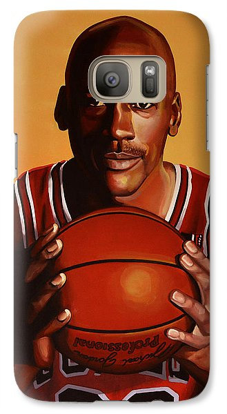 Wizard Galaxy S7 Case - Michael Jordan 2 by Paul Meijering