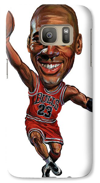Michael Jordan Galaxy Case by Art
