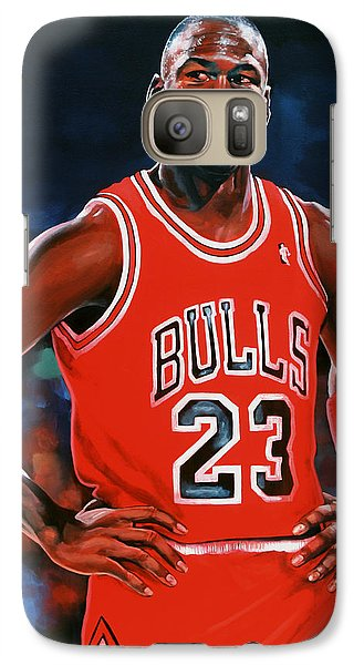 Sports Galaxy S7 Case - Michael Jordan by Paul Meijering