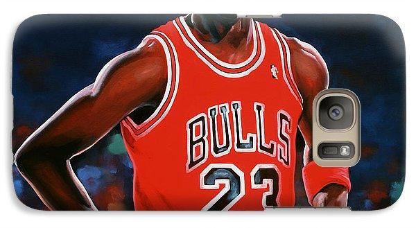 Realistic Galaxy S7 Case - Michael Jordan by Paul Meijering