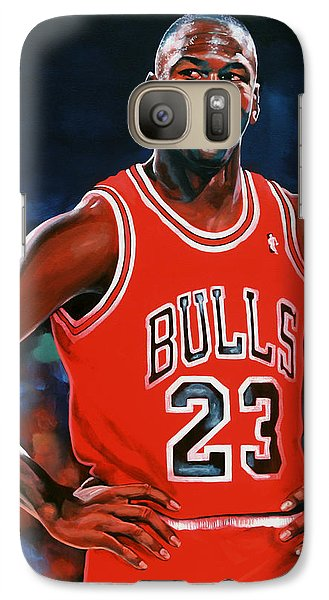 Wizard Galaxy S7 Case - Michael Jordan by Paul Meijering