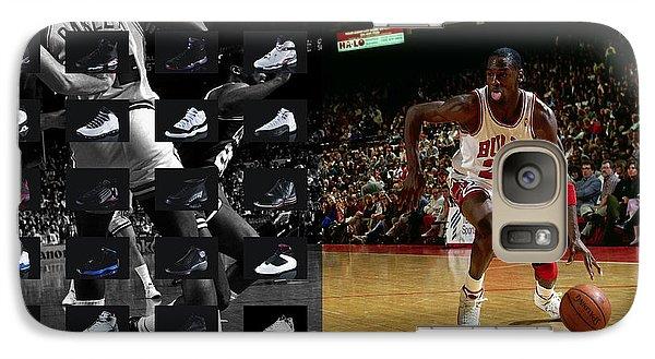 Michael Jordan Shoes Galaxy S7 Case