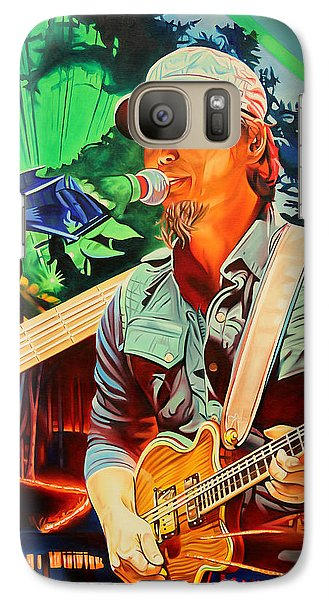 Galaxy Case featuring the painting Michael Kang At Horning's Hideout by Joshua Morton