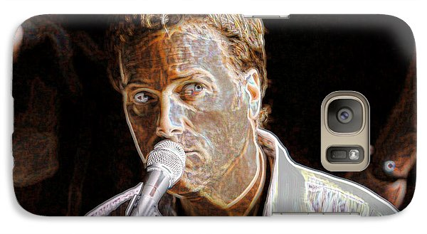 Galaxy Case featuring the photograph Michael W. Smith by Don Olea