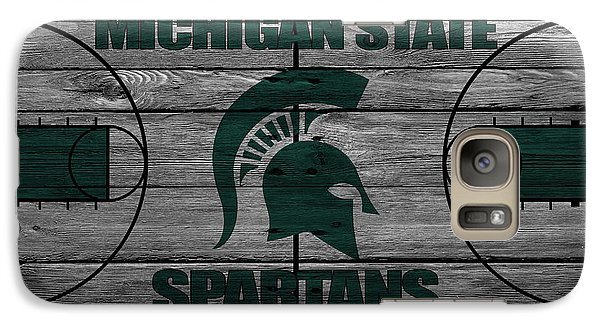 Michigan State Spartans Galaxy Case by Joe Hamilton
