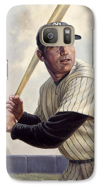 Mickey Mantle Galaxy Case by Gregory Perillo