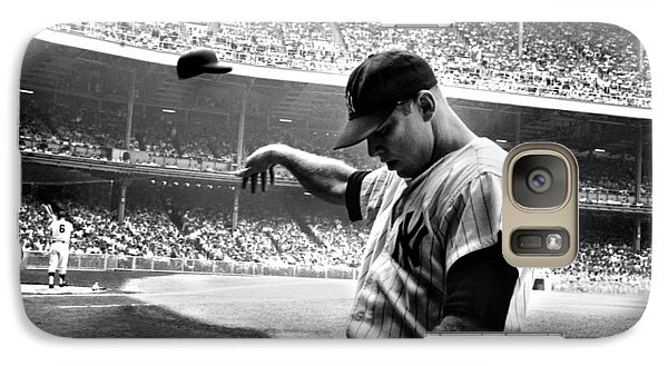 Sports Galaxy S7 Case - Mickey Mantle by Gianfranco Weiss