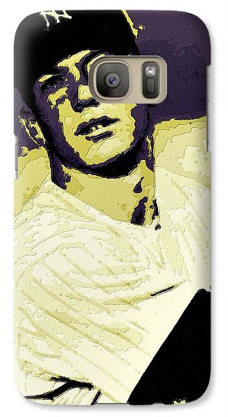Mickey Mantle Poster Art Galaxy S7 Case