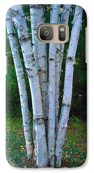 Galaxy Case featuring the photograph Micro-grove by Daniel Thompson