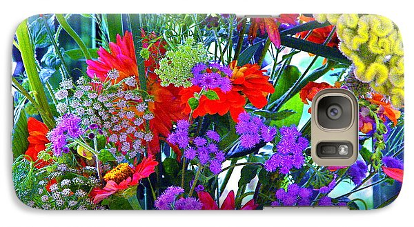 Galaxy Case featuring the photograph Mid August Bouquet by Byron Varvarigos