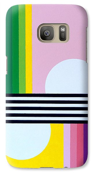Galaxy Case featuring the painting Mid Century Resolution by Thomas Gronowski