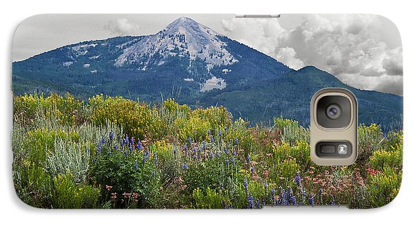 Galaxy Case featuring the photograph Mid Summer Morning by Daniel Hebard