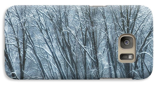Galaxy Case featuring the photograph Mid-winter Storm by Jonathan Nguyen