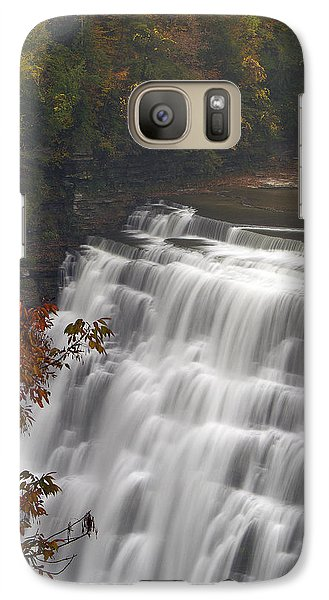 Galaxy Case featuring the photograph Middle Falls II by Timothy McIntyre