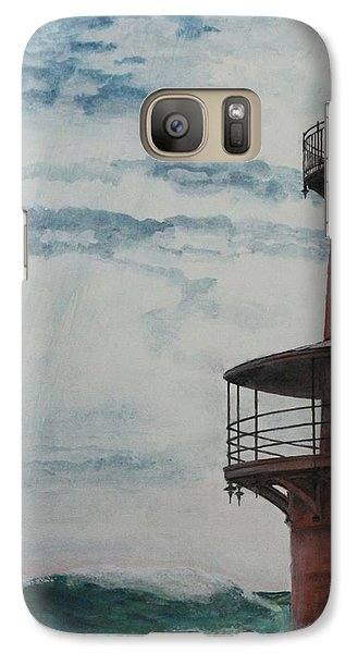 Galaxy Case featuring the painting Middleground by Stan Tenney