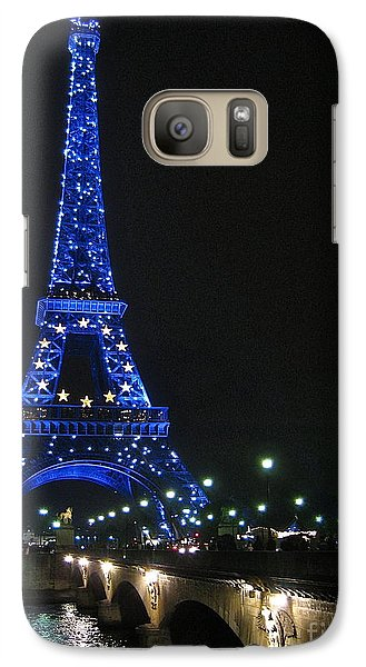 Galaxy Case featuring the photograph Midnight Blue by Suzanne Oesterling