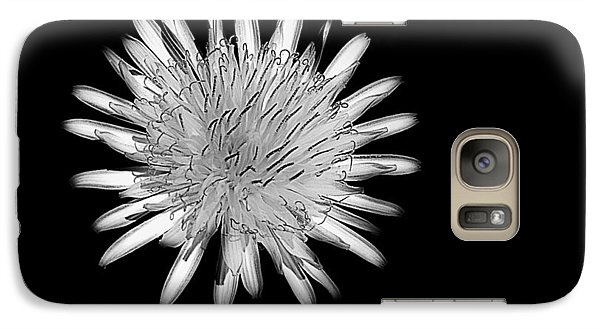 Galaxy Case featuring the photograph Midnight Dandelion by Ludwig Keck